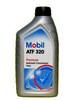 Масло для ГУР красное полусинтетика mobil 320
